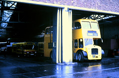 Slide 112-86 (Steve Guess) Tags: southern national bus weymouth dorset england gb uk bristol driver trainer instruction driving school lodekka