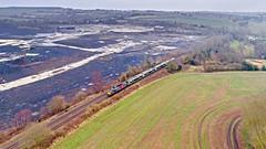 37884 at Daw Mill (robmcrorie) Tags: 37884 350249 rial operations group daw mill colliery warwickshire northampton long marston 5q94 rail railway coal mine demolition waste