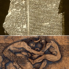 The Epic of Gilgamesh (jayjwol) Tags: ancient epic gilgamesh stone tablet