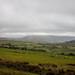 cumbrian fields with knott mountain