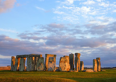 Stonehenge in late evening sun, England (Frans.Sellies) Tags: p1230258 england unesco worldheritage stonehenge