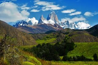 Fitz Roy,El  Chalten,Parque nacional los glaciares,patagonia Argentina
