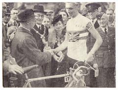 First British National Road Race Champion's Jersey, 1943. (Paris-Roubaix) Tags: ernie clements wrekin rcc british league racing cyclists blrc vintage road national race championship jersey 1943
