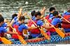 2017-05-28 4654 Taipei Dragon Boat Festival 2017 - Dajia Riverside Park (Badger 23 / jezevec) Tags: dragon dragonboat festival taiwan history culture travel tourism duanwufestival zhongxiaofestival 忠孝節 龍船節 龍舟節 端午节 端午節 龍舟 龙舟 龍船 龙船 taipei ֵ台北 臺北市 taipeh taןpeh ταϊπέι 타이페이 тайбэй 台北市 ტაიბეი تايبيه taibei đàibắc taipé tchajpej rowing sports boat barco шлюпка 배 ボート barca βάρκα bateau 小船 člun veneillä csónak łódź boating vessel photo picture image watersports watercraft asia tradition teamwork water 大佳河濱公園 dajiariversidepark