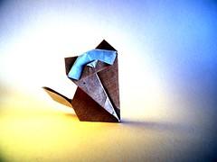 Cat - Nicolas Terry (Rui.Roda) Tags: origami papiroflexia papierfalten chat gato gatto cat nicolas terry