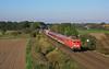 Ihre letzte Fahrt (Klaus Z.) Tags: eisenbahn kbs 385 sykegessel br 110 243 sonderzug personenzug db