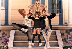 Family and Friends thats what Second Life is all about :P (Naria Panthar) Tags: family friends secondlife sl group