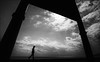 F_47A6932-1-BW-1-BW-Canon 5DIII-Canon 16-35mm-May Lee 廖藹淳 (May-margy) Tags: maymargy bw 黑白 人像 逆光 剪影 框框 海岸 海邊 雲彩 街拍 streetviewphotography 線條造型與光影 linesformandlightandshadow 天馬行空鏡頭的異想世界 mylensandmyimagination 心象意象與影像 naturalcoincidencethrumylens humaningeometry 幾何構圖 點人 框景 海景 花蓮 台灣 中華民國 taiwan repofchina backlighting f47a69321bw1bw portrait frame seashore shorelines silhouette clouds hualiencounty canon5diii canon1635mm maylee廖藹淳