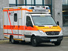Sprinter Ambulance (Schwanzus_Longus) Tags: bremen modern van box vehicle ambulance emergenvy red cross mercedes benz sprinter