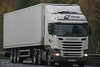 Scania R450 DFDS MT16 GWN (SR Photos Torksey) Tags: truck transport haulage hgv lorry lgv logistics commercial road vehicle freight traffic scania dfds