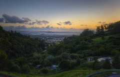 The View from the Place (Decaseconds) Tags: hdr sunset lawrence berkeley national laboratory lab bay area lbl sanfrancisco cityscape