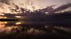 Reflection (Untalented Guy) Tags: reflection riflesso water sea portocesareo porto sky sunset tokina 16mm 1628 tramonto acqua mare crepuscolo cielo long expoure purple porpora viola winter