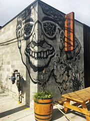 Smile by En Masse (wiredforlego) Tags: graffiti mural streetart urbanart aerosolart chicago illinois ord enmasse