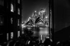 Kirribilli Sneak (Leighton Wallis) Tags: sony alpha a7r mirrorless ilce7r 55mm f18 emount sydney kirribilli nsw newsouthwales australia sydneyoperahouse units apartments sydneyharbour night lights