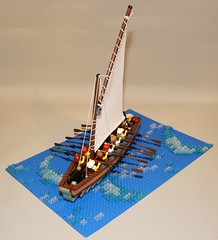 Gun Sloop No. 2 (Beorthan) Tags: corrington bobs gunboat lego eurobricks