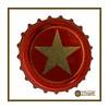 Estrella Damm (J.Gargallo) Tags: estrelladamm estrella cerveza beer birra bier chapa rojo macro macrofotografía marco framed canon canon450d eos eos450d tokina tokina100mmf28atxprod bebida drink