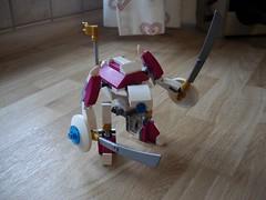 Iudex Heavy Drone (revamp) (Śląski Hutas) Tags: lego bricks moc robots drones church gold scifi futuristic