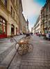 Street scene Leipzig, Germany (` Toshio ') Tags: toshio leipzig germany german europe european europeanunion babycarriage street city store fujixe2 xe2
