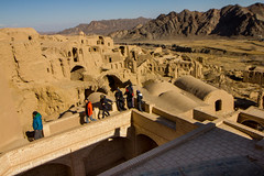 Kharanaq (enrico.gh) Tags: dashte kavir iran deserto desert kharanaq adobe mudbrick villaggio village