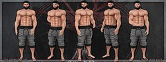 [ new release – suave pose pack ] ([ sithas ]) Tags: bento hand hands male masculine men model modeling newrelease pose posepack posestand posing release secondlife sithasslade sl smooth static stoic strong suave thesanguinetree