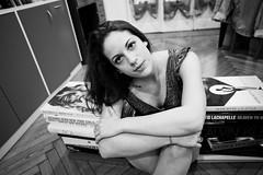 Elisa (Luca Ricagni) Tags: models model girls girl lucaricagni ricagni luca wwwlucaricagniit nikon nikkor books book eyes eye d700 24 24mm nikkor24f28 portrait portraiture ritratto ritrattistica bw bn black white blancheetnoir bianconero biancoenero indoor blackwhite