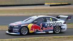 Off to TEST (2) (Jungle Jack Movements (ferroequinologist)) Tags: pit lane sydney motorsport park test day virgin australia supercar craig lowndes racing autobahn 888 1 jamie whincup red zb holden commodore v8 gm gmh new south wales nsw bull motor pass race speed car cars hottie track practice pole position times timing hard competition competitive event saloon sports racer driver mechanic engine oil petrol build fast faster fastest grid circuit drive helmet marshal starter sponsor number class classic chev chevrolet opel