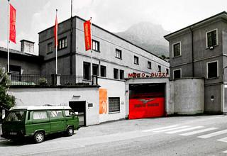 Visiting the Moto Guzzi factory/museum