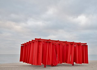 Obstacle by Kiem Pham, The Winter Stations, Woodbine Beach, The Beach, Toronto, ON