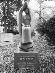 Archipenko (dmatp) Tags: thewoodlawncemetery ny anationalhistoriclandmark woodlawn bronxny thebronx archipenko alexanderarchipenko angelicaarchipenko cemetery