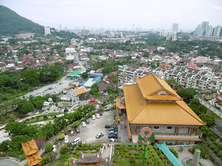 View from Kek Lok Si Temple, George Town, Malaysia