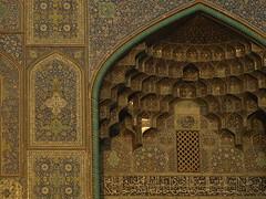 P9254896 (bartlebooth) Tags: esfahanprovince isfahanprovince iran persia middleeast mosque masjid iranian architecture olympus e510 evolt silkroad persian esfahan isfahan sheikhlotfallahmosque unesco tile blue naqshejahansquare mosaic