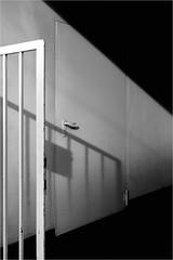 Open Fence Door (Armin Fuchs) Tags: arminfuchs fence würzburg shadow diagonal hff door