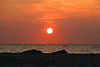 Jersey Shore Sunrise (chantsign) Tags: sunrise jerseyshore sun orange clouds dunes