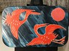 Back (PDX Yogini) Tags: collage 2108 alteredart art shrine acrylic paper cranes