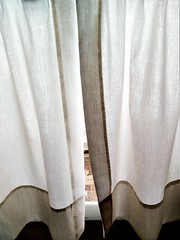 BEHIND THIS CURTAIN IS MORE SNOW (Visual Images1 (Thanks for over 4 million views)) Tags: window curtain hww 2018onephotoeachday