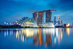 Singapore city skyline at dusk, Singapore (Patrick Foto ;)) Tags: architecture asian background bay blue building business center central city cityscape commercial copyspace district downtown dusk evening exterior famous finance financial illuminated landmark landscape light marina metropolis modern night office outdoors reflection river riverside sea singapore sky skyline skyscraper southeast structure tourism tower town travel twilight urban water waterfront wheel sg