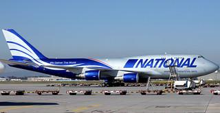 National Air Cargo B747-400BCF TF-NAD parked at FRA/EDDF