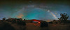 Parallax Part Two (Ryan Moyer) Tags: canyonlands mesaarch milkyway moab astrophotography astro night nightsky stars starrysky panorama galaxy utah