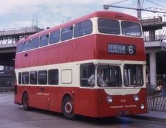 CWY319B (21c101) Tags: yorkshiretraction daimler weymann daimlerfleetline 751 19 mexboroughswinton 1964 crg6lx 1970 busstation
