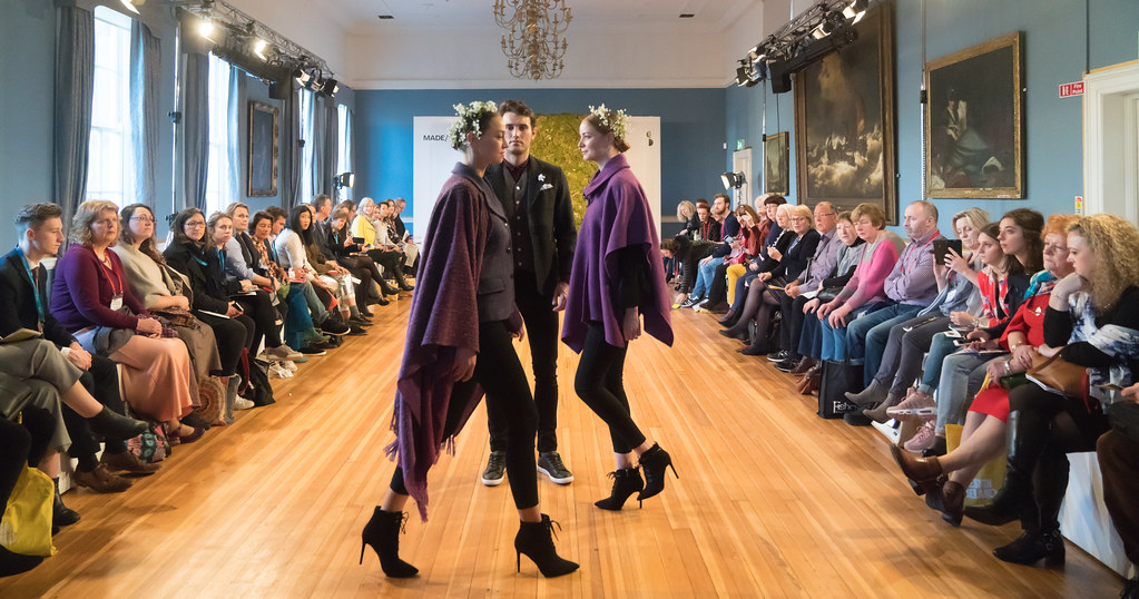 MADE-Slow PRESENTATION OF QUALITY IRISH FASHION DESIGN - STUDIO DONEGAL [FASHION SHOW AT THE RDS JANUARY 2018]-136252
