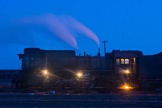 Blue hour steam