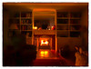 What to do when the power goes out... (Timothy Valentine) Tags: 2018 candlelight 0318 home fireplace noreaster eastbridgewater massachusetts unitedstates us