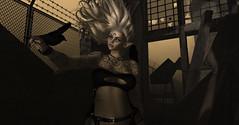 A Raven's whisper (☢.:Myth:.☢) Tags: secondlife sl urban city wind raven whispers maitreya