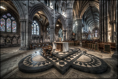 Lichfield Cathedral (Darwinsgift) Tags: lichfield cathedral interior hdr laowa 12mm zero d nikon d850