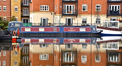 NARROWBOAT REFLECTIONS (chris .p) Tags: worcester canal nikon d610 view water worcestershire england capture winter 2018 reflection february uk reflections