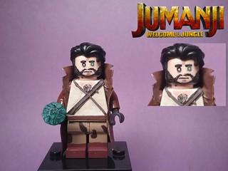 Custom Lego: Jumani- villainthatidontknowthenameof