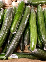 My that's a big one! (JulieK (thanks for 7 million views)) Tags: 5100 100xthe2018edition 100x2018 image5100 cucumber vegetable tesco supermarket iphonese hggt green ireland irish newross wexford