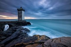 Finistere. (darklogan1) Tags: longexposure kermorvan lighthouse leconquet bretagne dusk logan darklogan1 sonya7r2 canon1635f4 blue clouds
