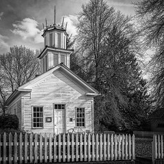 Claquato Church (D E Pabst Photography) Tags: methodist claquato lewiscounty washington historic wooden nationalregisterofhistoricplaces monochrome blackandwhite chehalis church