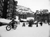 Gone Cycling ... (holtelars) Tags: pentax 645 pentax645 645n 6x45 smcpentaxa 35mm f35 120 film 120film foma fomapan fomapan100 professional 100iso mediumformat analog analogue blackandwhite classicblackwhite bw monochrome filmforever ishootfilm filmphotography xtol homeprocessing larsholte alps avoriaz france winter snow